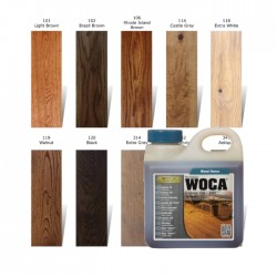WOCA Colour Oil 1L, 2,5L