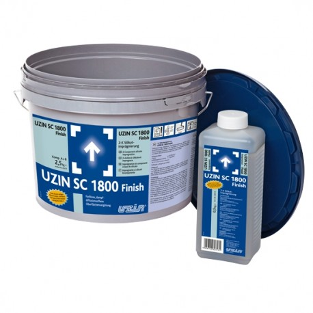 UZIN SC 1800 Finish 2-Component Silicate Sealer 2,5 kg