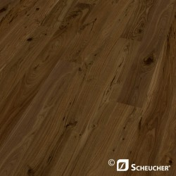 Black Walnut Country Scheucher Woodflor 182 Parquet Plank