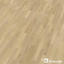 Oak Natur Perla Scheucher Woodflor 182 3-Strip Parquet Flooring
