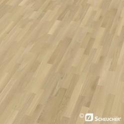 Oak Natur Perla Scheucher Woodflor 182 3-Strip Parquet Flooring