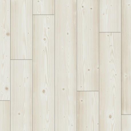 Brushed white pine, Plank, Sensation Modern plank PERGO Laminat