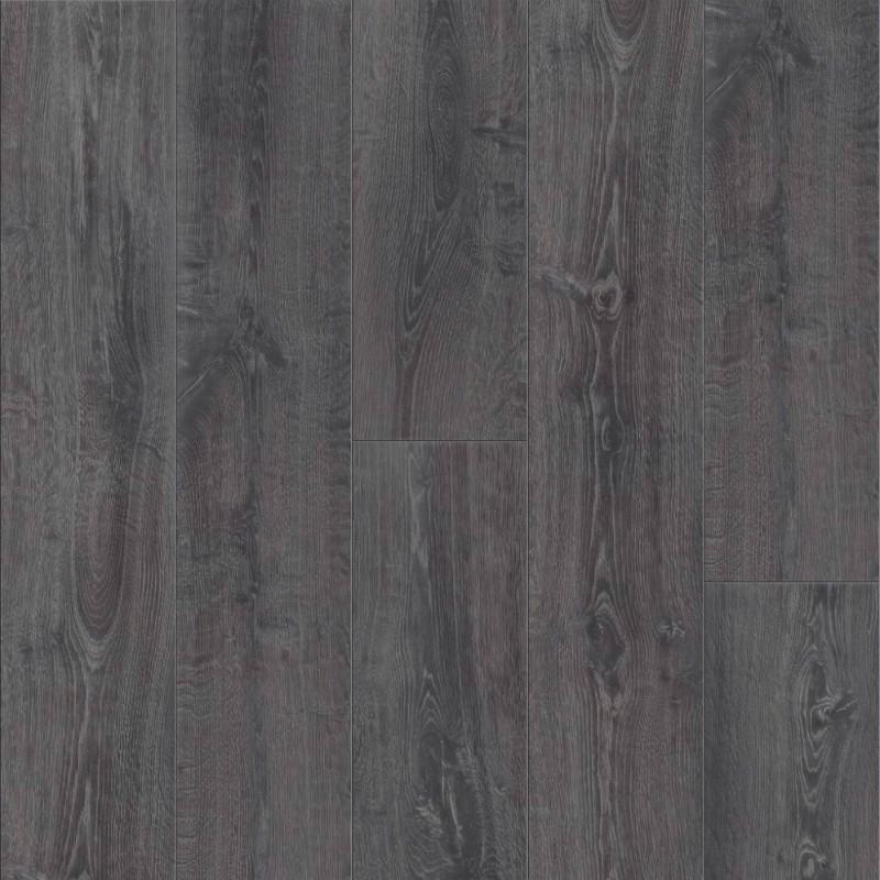 Long Plank 4 Bevel Midnight Oak, Swiftlock Chelsea Oak Laminate Flooring