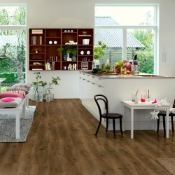 Modern Coffee Oak Pergo Click Vinyl Design Floor