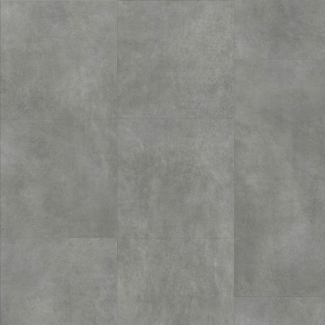 Dark grey Concrete Pergo Click  Vinyl tile
