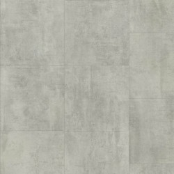 Light grey Travertin Pergo Click  Vinyl tile