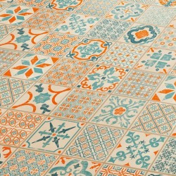 Tarkett Starfloor Click 30 Retro Orange Blue