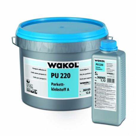 Wakol PU 220 Parkettklebstoff  A/B 12 kg + 1,12kg