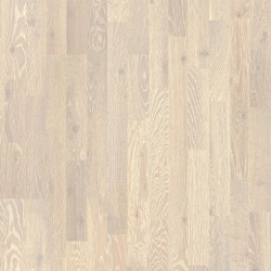 Tarkett Heritage Oak Chalk White Parquet 3 Strip
