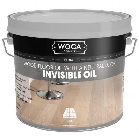 WOCA Invisible ÖL (step 2)  1L, 2,5L