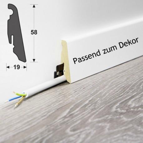 Wineo MDF Sockelleiste Passende zum Dekor 58mm