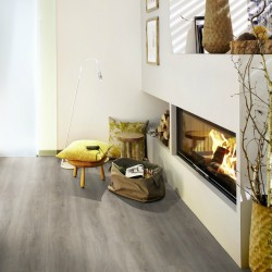 Wineo 400 wood XL Memory oak silver Klebevinyl