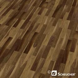 Black Walnut Struktur Scheucher Woodflor 182 Parquet Flooring 3 Strip