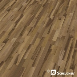 Scheucher Woodflor 182 Black Walnut Effect Parquet Flooring