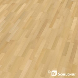 Scheucher Woodflor 182 Beech Steamed Nature Parquet Flooring