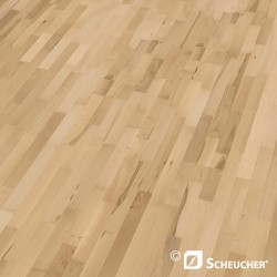 Scheucher Woodflor 182 Beech Steamed Struktur Parquet Flooring