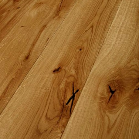 Oak Wild Plank 2-Layer Parquet Natural oiled