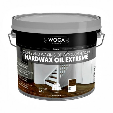 WOCA Hartwachs Öl Extrem, natur 2,5L
