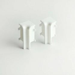 AMBE Innenecken für Sockelleisten Topline - 16 x 58 mm - Ecken Weiß