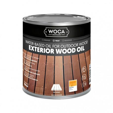 WOCA Außenholzöl Exterior Öl Natur 0,75L