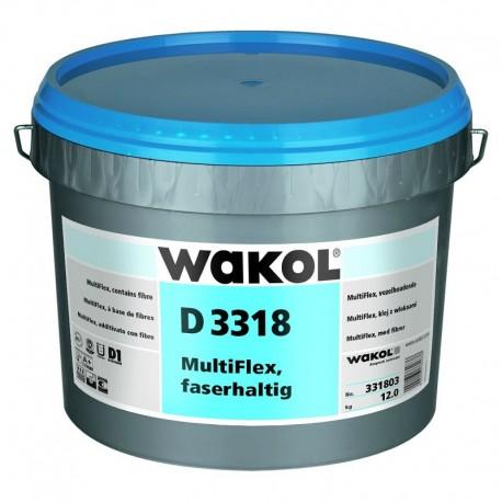 WAKOL D 3318 Multiflex Fiber Containing - 6 Kg - 13 Kg