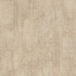 Cream Travertin Pergo Rigid Click Vinyl Tiles Premium / Optimum