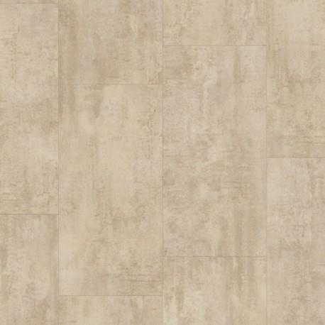 Cream Travertin Pergo Rigid Click Vinyl Tiles Premium / Optimum