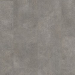 Dark Grey Concrete Pergo Rigid Click Vinyl Tiles Premium / Optimum