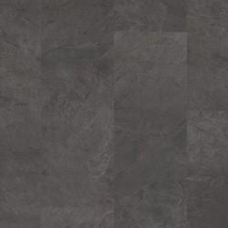 Black Scivaro Slate Pergo Rigid Click Vinyl Tiles