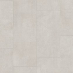 Light Concrete Pergo Rigid Click Vinyl Tiles Premium / Optimum