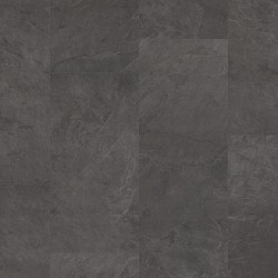 Black Scivaro Slate Pergo Glue Vinyl Tiles Design Floor