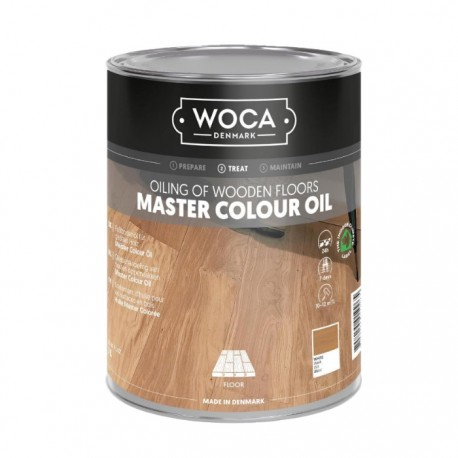WOCA Master Floor Oil white 1L, 2,5L, 5L