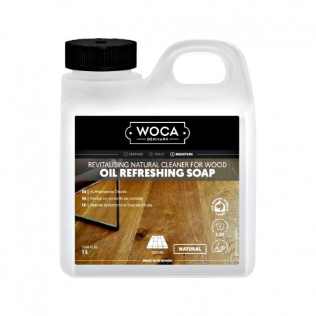 WOCA Oil Refresher Natural 1L, 2,5L