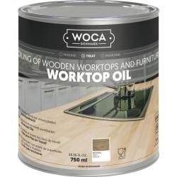 WOCA Arbeitsplatten Öl Pflege - Natural - 0,75 L