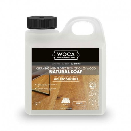 WOCA Natural Soap white