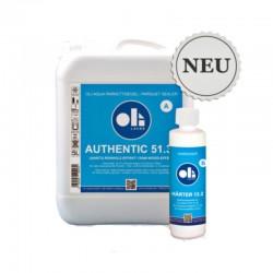 Oli Aqua Authentic 51.30 2K Parkettsiegel mit Rohholzeffekt