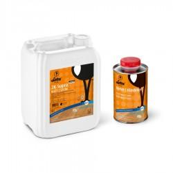 LOBA 2K Supra Keramikverstärkter 2K Polyurethan-Parkettlack