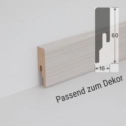 Wineo MDF Skirting with decorative film for  BIO Vinyl 1000